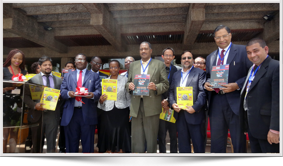 Afrotrade Issue Inaugural at Kenya Trade Fair 2013