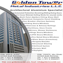 Golden Tower Metal Industries LLC is one of the most qualified architectural aluminium specialists in United Arab Emirates & respected in the construction industry.