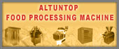 Altuntop Food Processing Machine